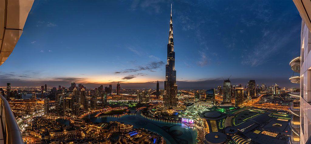 1-Burj-Khalifa-UAE-Sunset-View-Dubai-Sky-Tower-Wallpaper