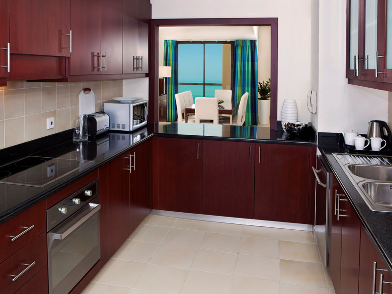 3-Bedroom Apartment - Kitchen