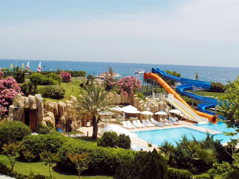 Queens Park Le Jardin Hotel ТурцияКириш_12