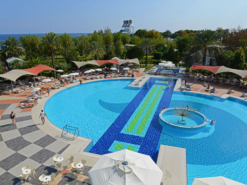 Queens Park Le Jardin Hotel ТурцияКириш_3