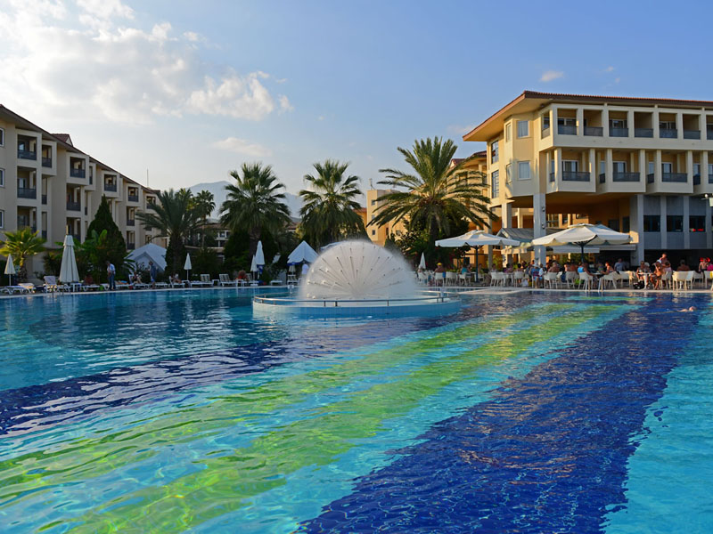 Queens Park Le Jardin Hotel ТурцияКириш_2