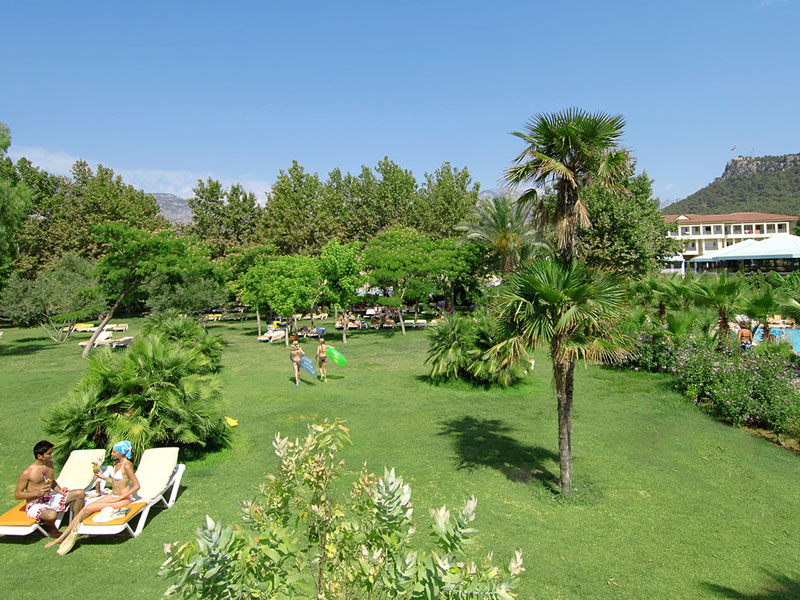 Queens Park Le Jardin Hotel ТурцияКириш_14