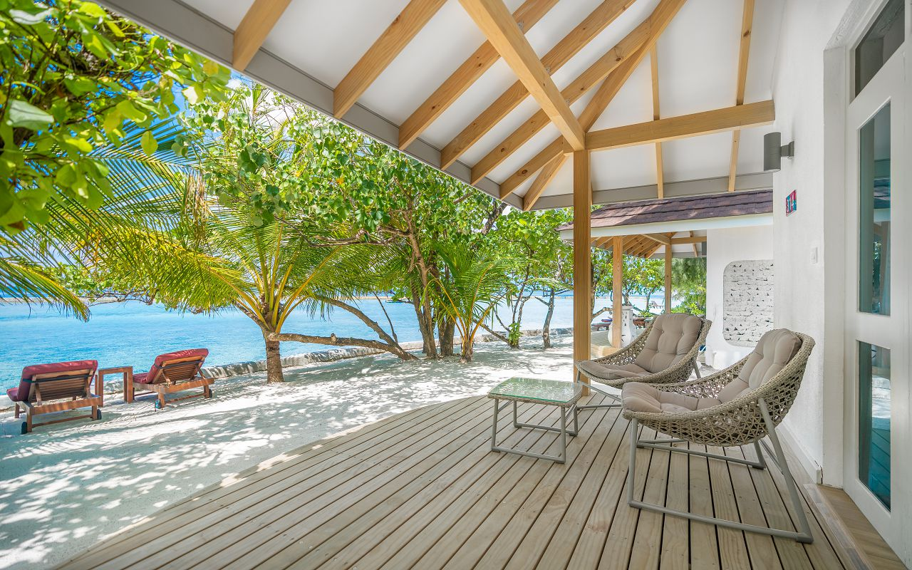 Elaidhoo Maldives by Cinnamon Beach bungalow exterior