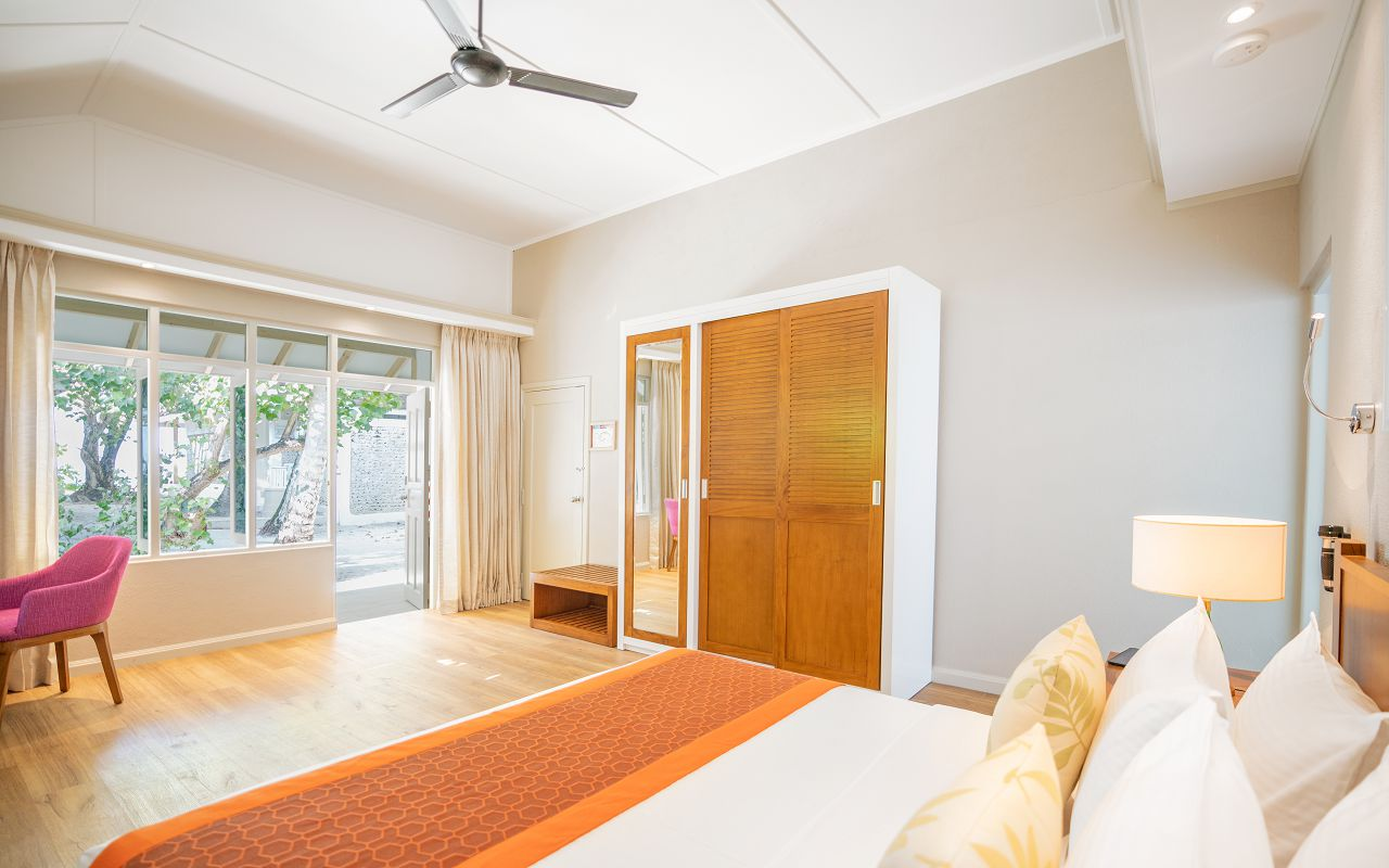 Elaidhoo Maldives by Cinnamon Standard room interior 2