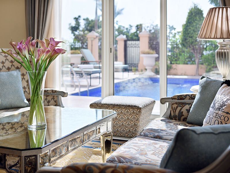 Kempinski Palm - Two bedroom suite with swimming pool