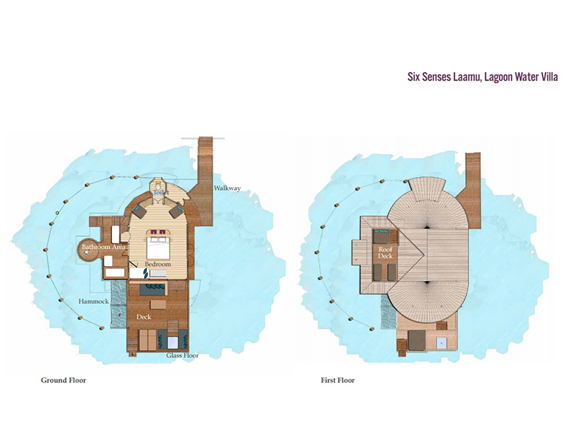 Lagoon Water Villa-plan