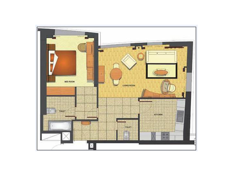 Premier One Bed Room Suite2
