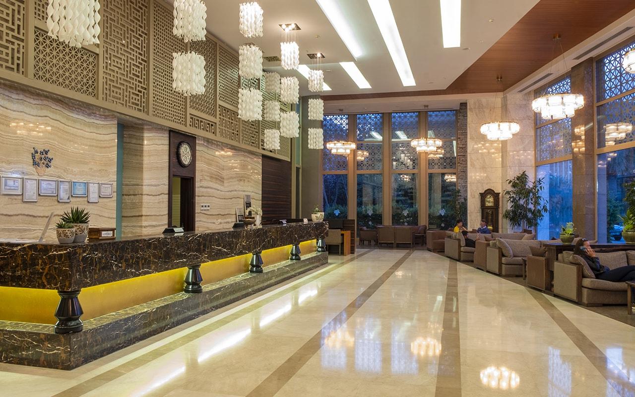 Queens Park Le Jardin Hotel ТурцияКириш_15