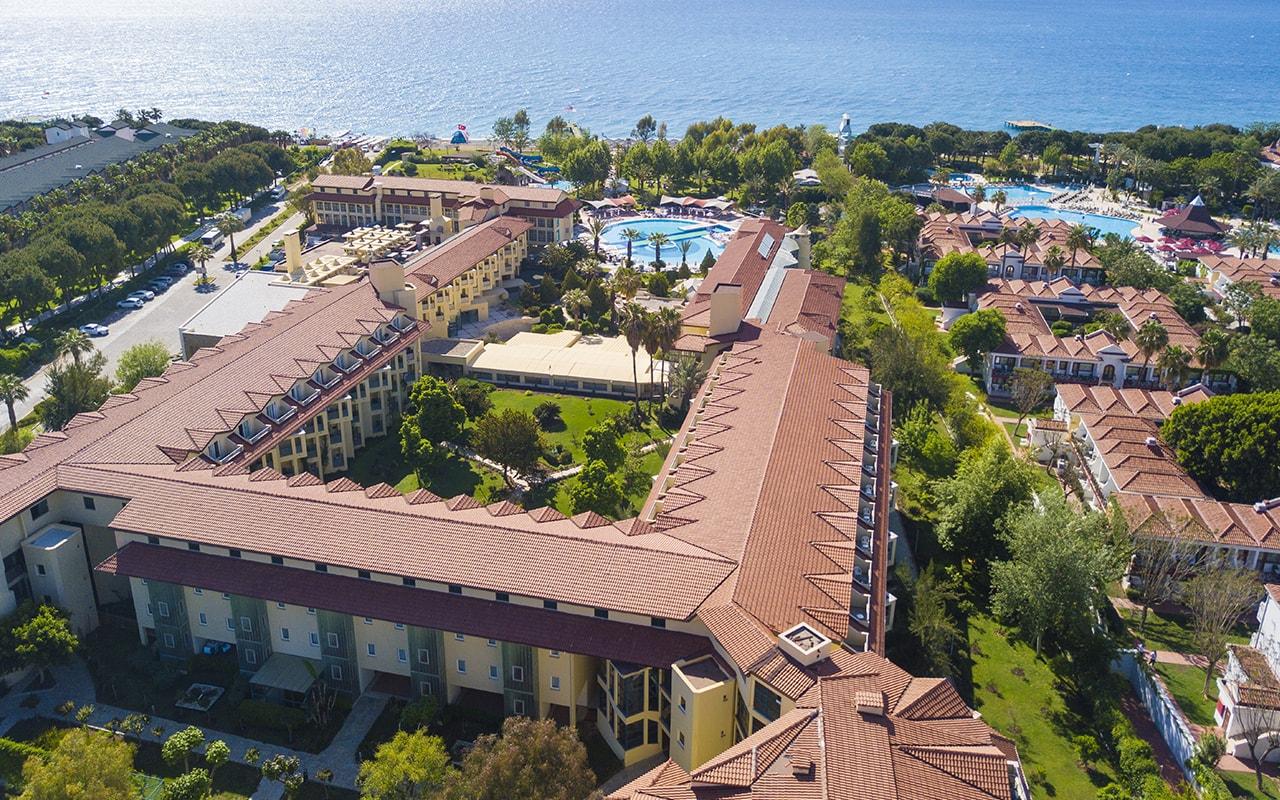 Queens Park Le Jardin Hotel ТурцияКириш_7