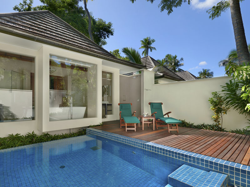 beachfront villa with plunge pool 1