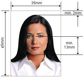 размер фотографий на загранпаспорт