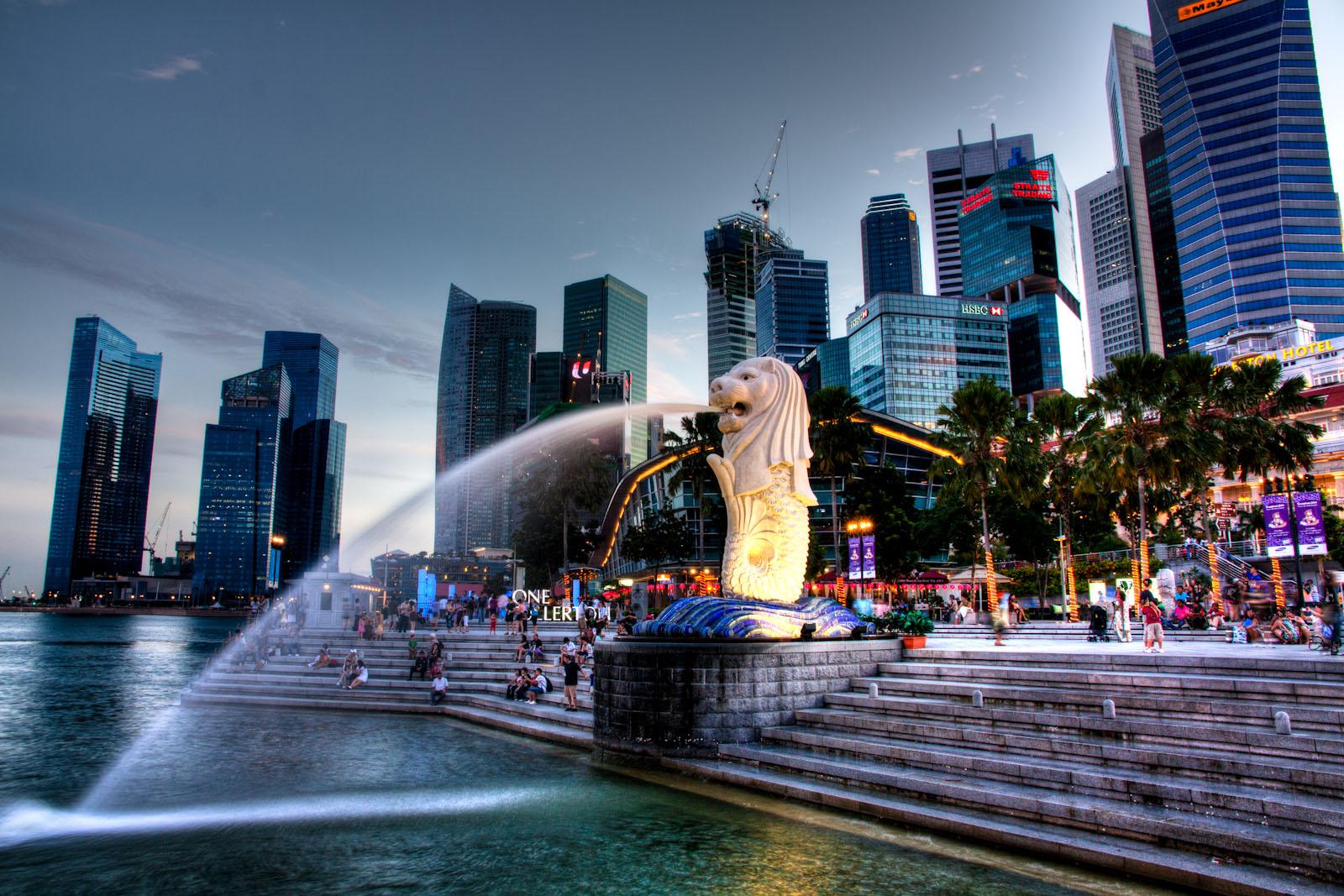 Мерлайон - символ Сингапура