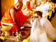 Таиланд свадьба в храме (1)