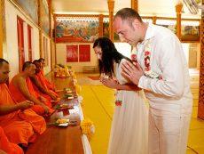 Таиланд свадьба в храме (3)
