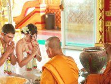 Таиланд свадьба в храме (4)