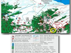 Карта-схема отелей и трасс Драгобрата