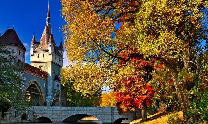 осень в европе фото