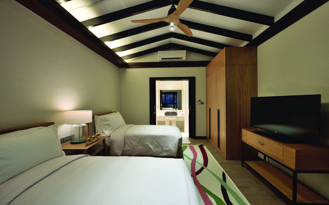 EARTH FAMILY POOL SUITE - SECOND BEDROOM - OZEN BY ATMOSPHERE AT MAADHOO MALDIVES