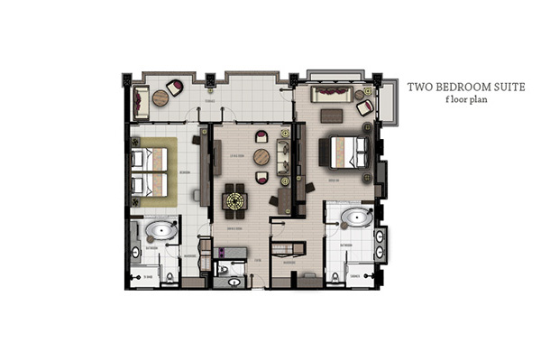 Two Bedrooms Suite5
