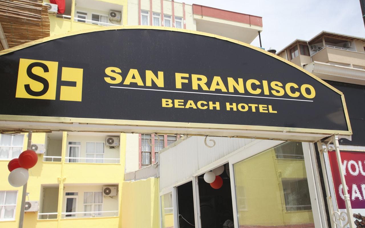 San Francisco Beach Otel ТурцияАлания_1