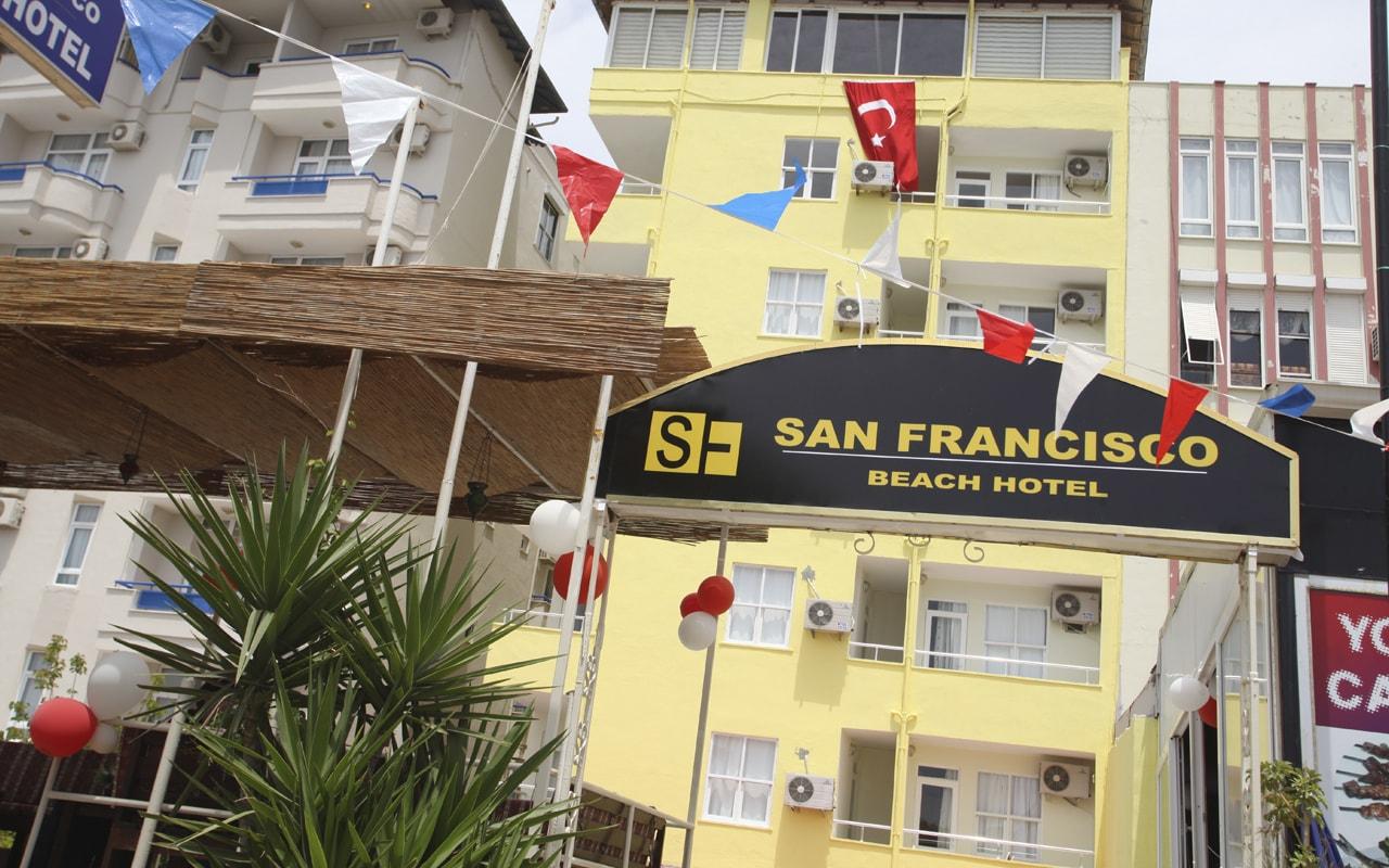 San Francisco Beach Otel ТурцияАлания