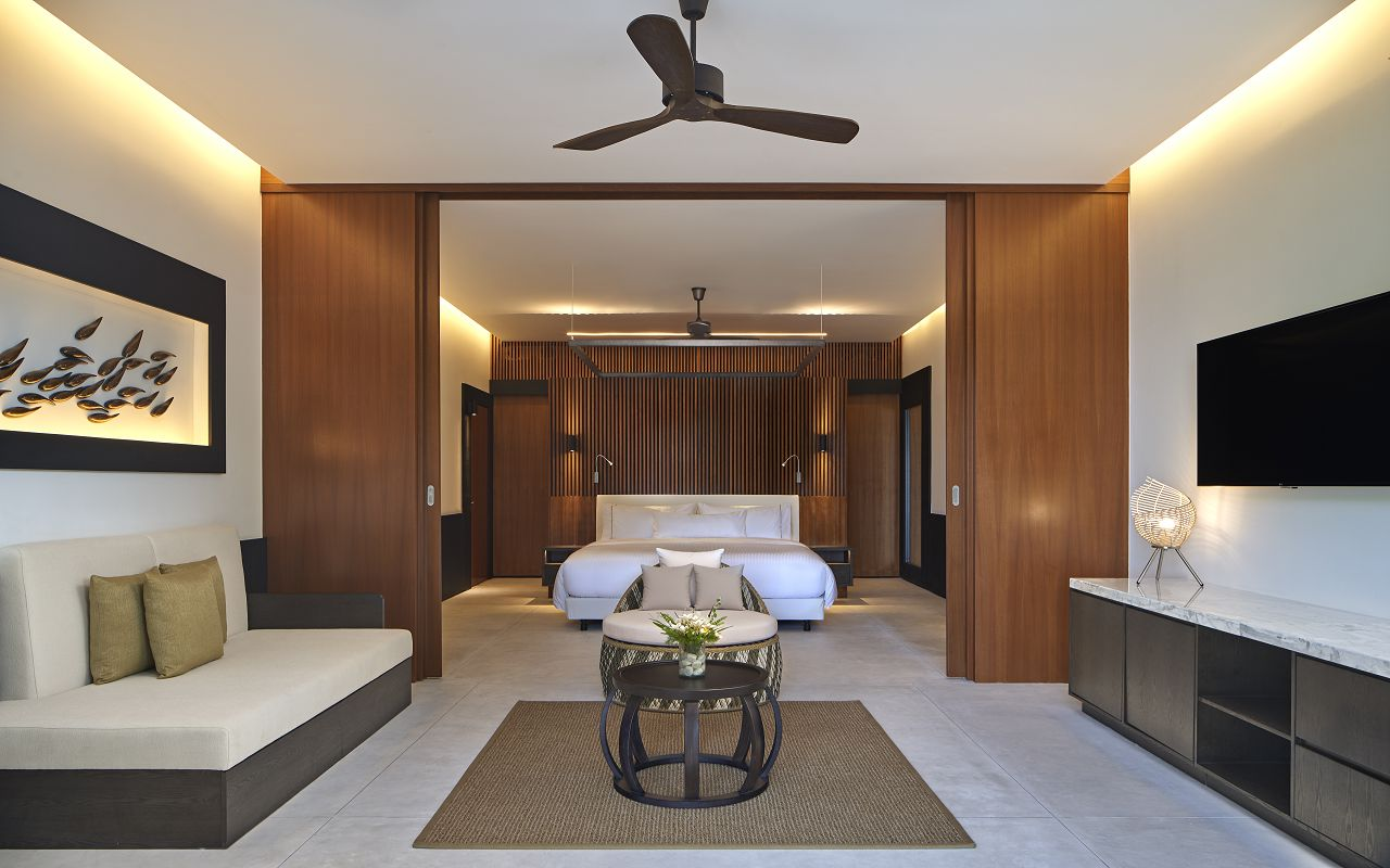 The Westin Maldives Island Suite Pool Interior