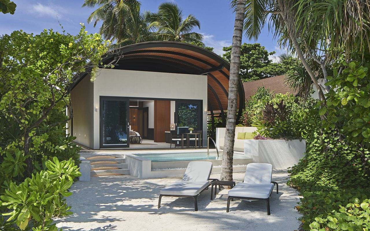 The Westin Maldives Island Villa or Suite Pool Exterior