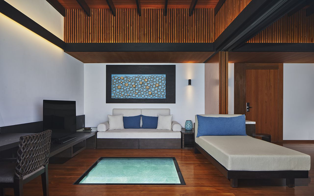 The Westin Maldives Overwater Suite Interior II