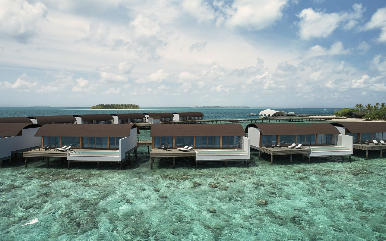 The Westin Maldives Overwater Suite Pool Exterior