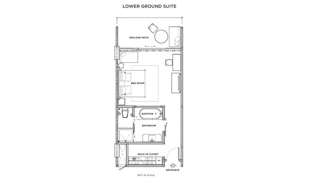 Lower Ground Suite – No View 5-min