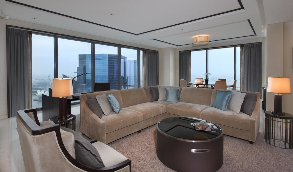 Harbor View Suite, Club lounge access, 1 Bedroom Suite 2-min