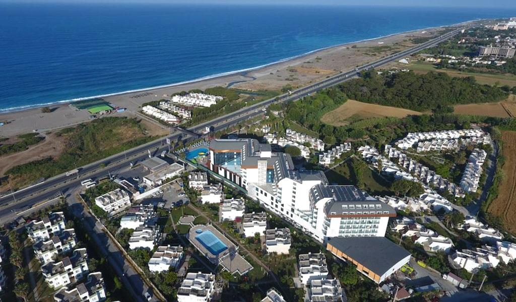 Throne Beach Resort & Spa ТурцияСиде