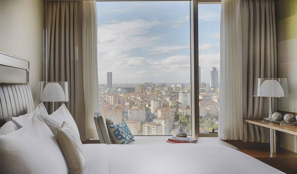 Executive Room, Club lounge access, Guest room, City view, 1 King 3-min