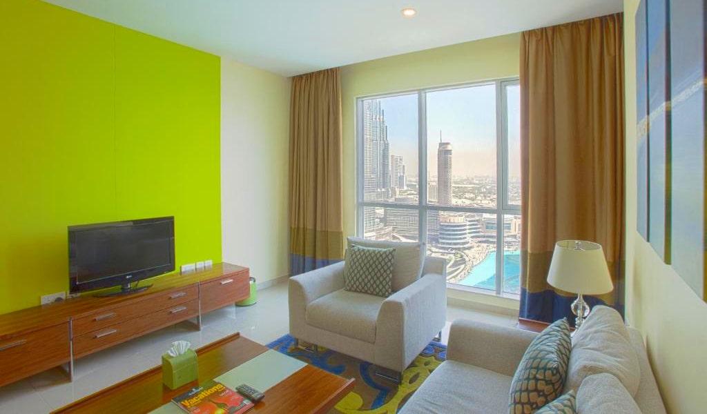 1 Bedroom Suite Burj Khalifa & Fountain View2-min