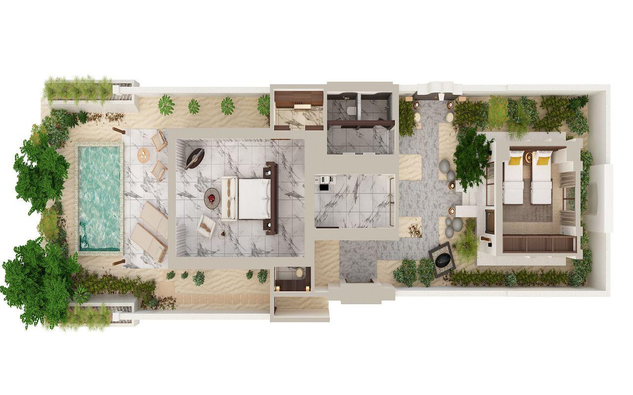 2-Bedroom Deluxe Beach Villa (1)