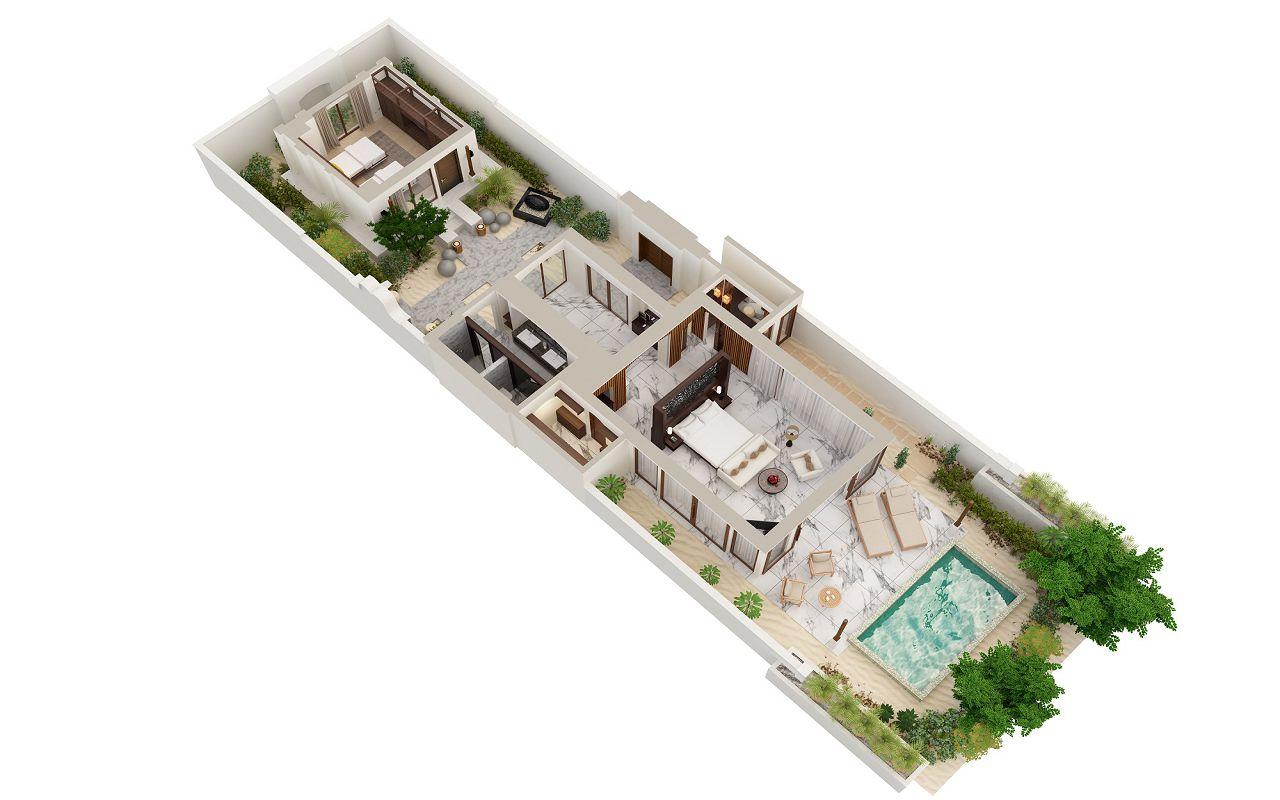 2-Bedroom Deluxe Beach Villa (2)