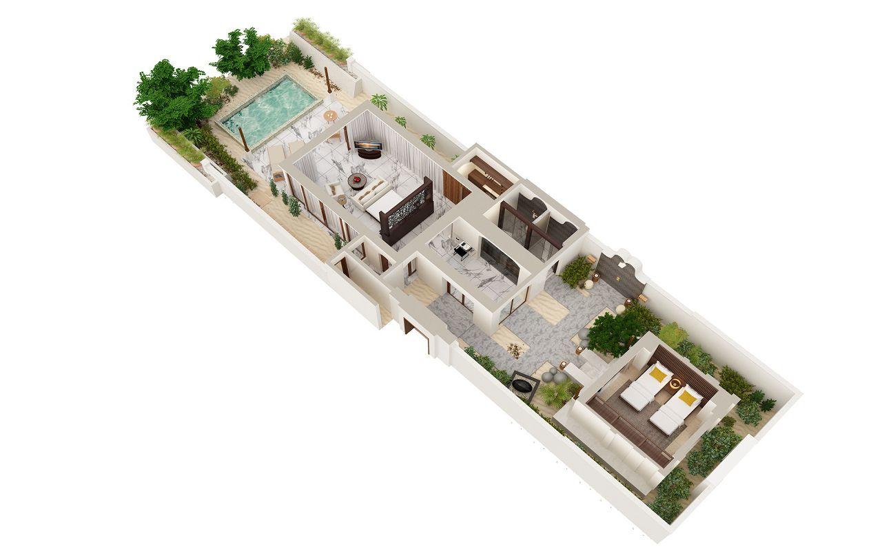 2-Bedroom Deluxe Beach Villa (3)