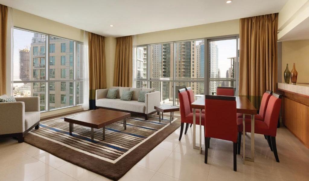 2 Bedroom Suite Burj Khalifa & Fountain View7-min