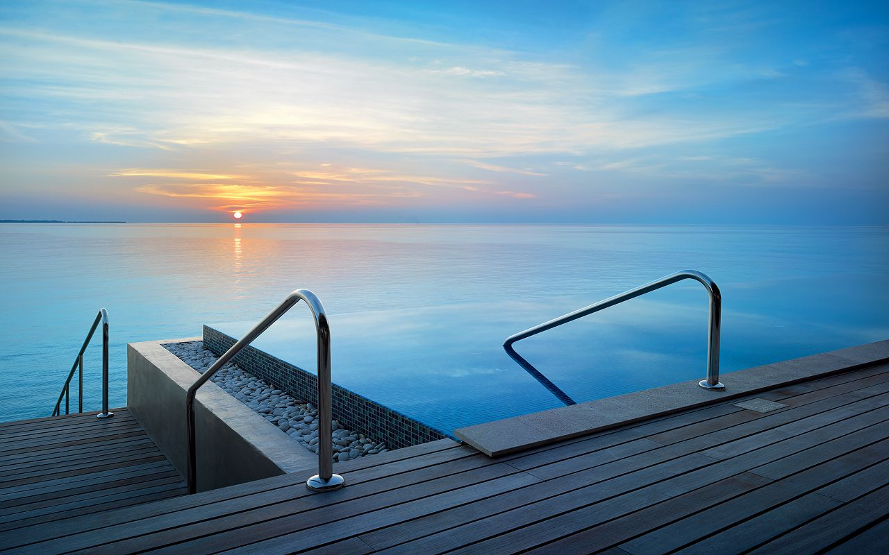 22 - Sunset Deluxe Water Pool Villa - View from Terrace