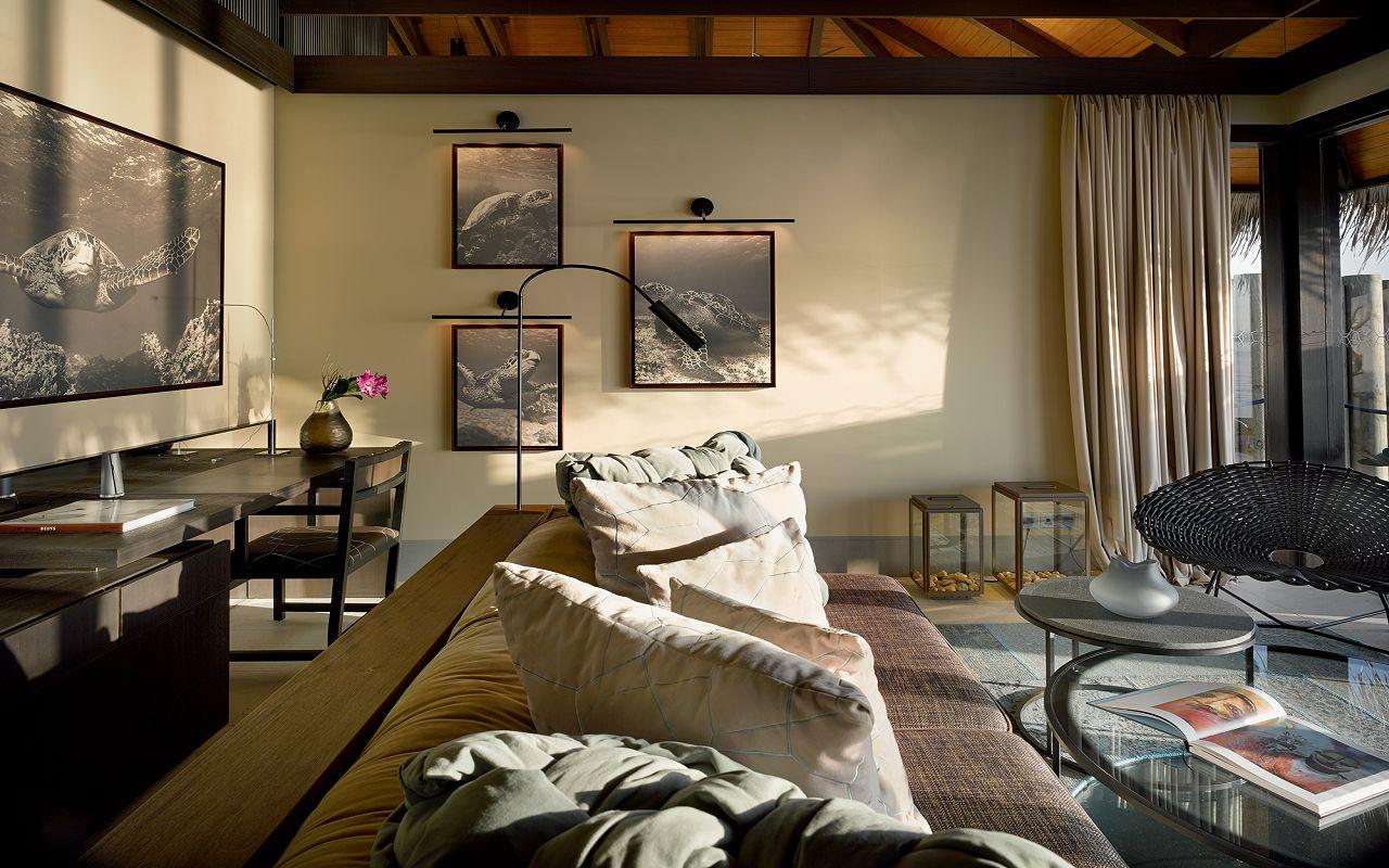25 - Sunset Deluxe Water Pool Villa - Living Room