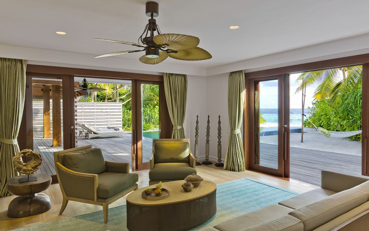 2BR Beach Residence with Pool - Ground Floor Interior
