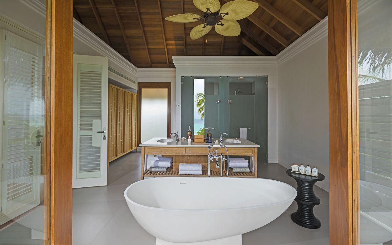 2BR Beach Residence with Pool - Upper Floor Bathroom