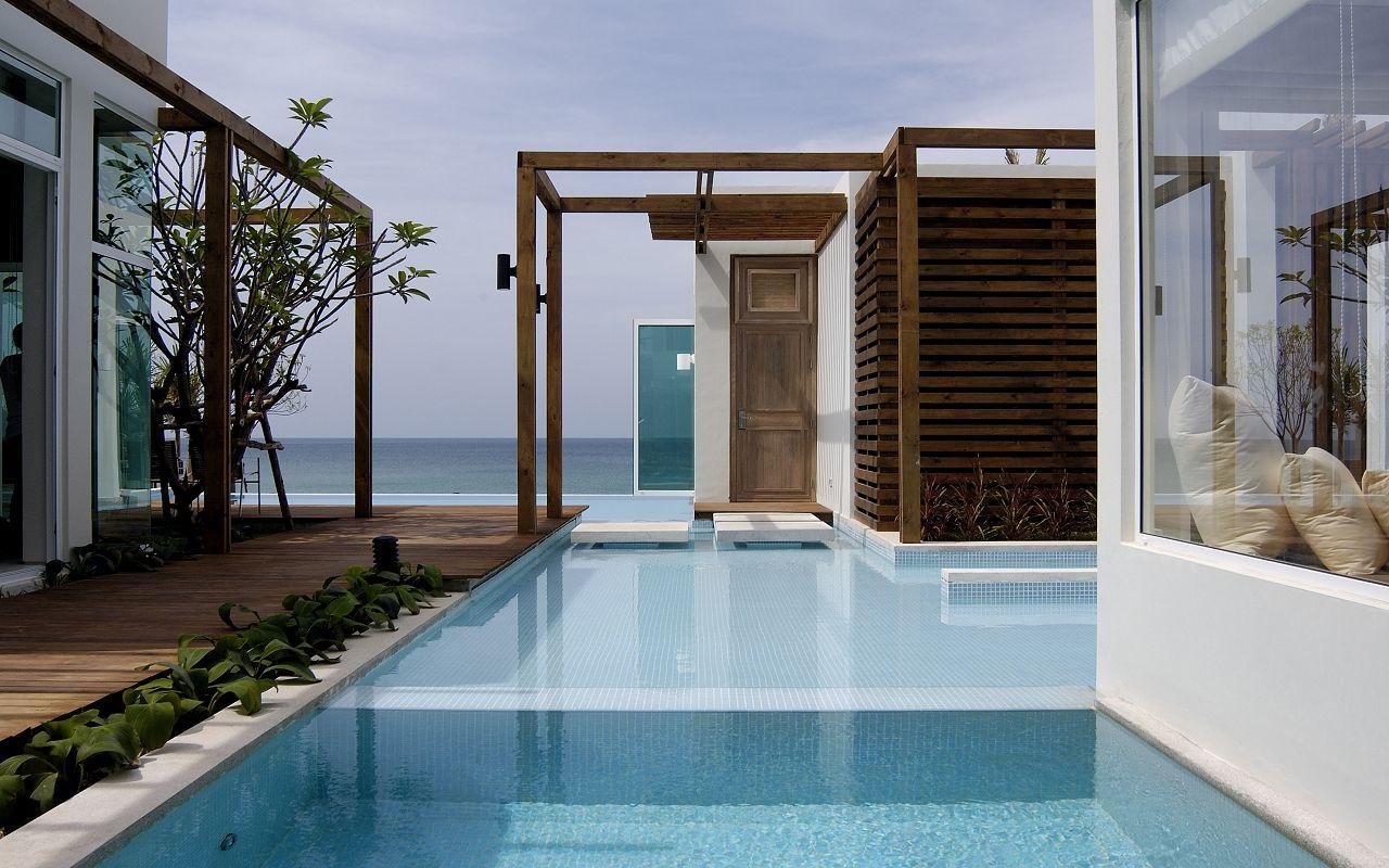 3-Bedroom Beachfront Pool Villa