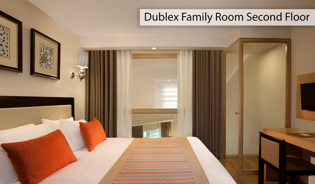 ALINDA ROOM Dublex Family Room Second Floor