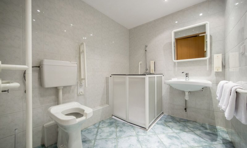 Accessible double room3