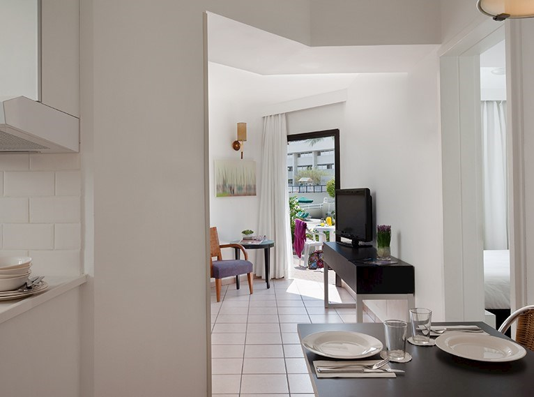 Apartment for Four Isrotel Riviera Club