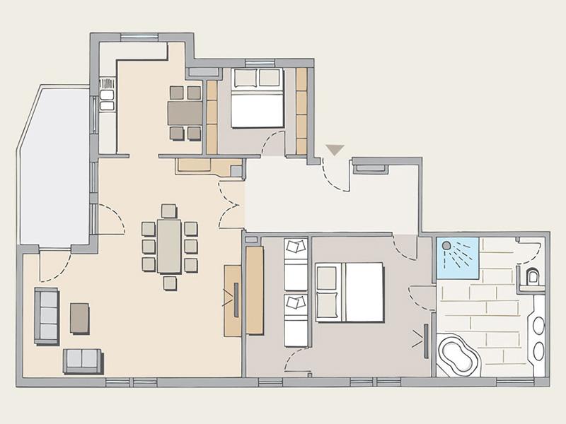 Appartement Schmittenhöhe4