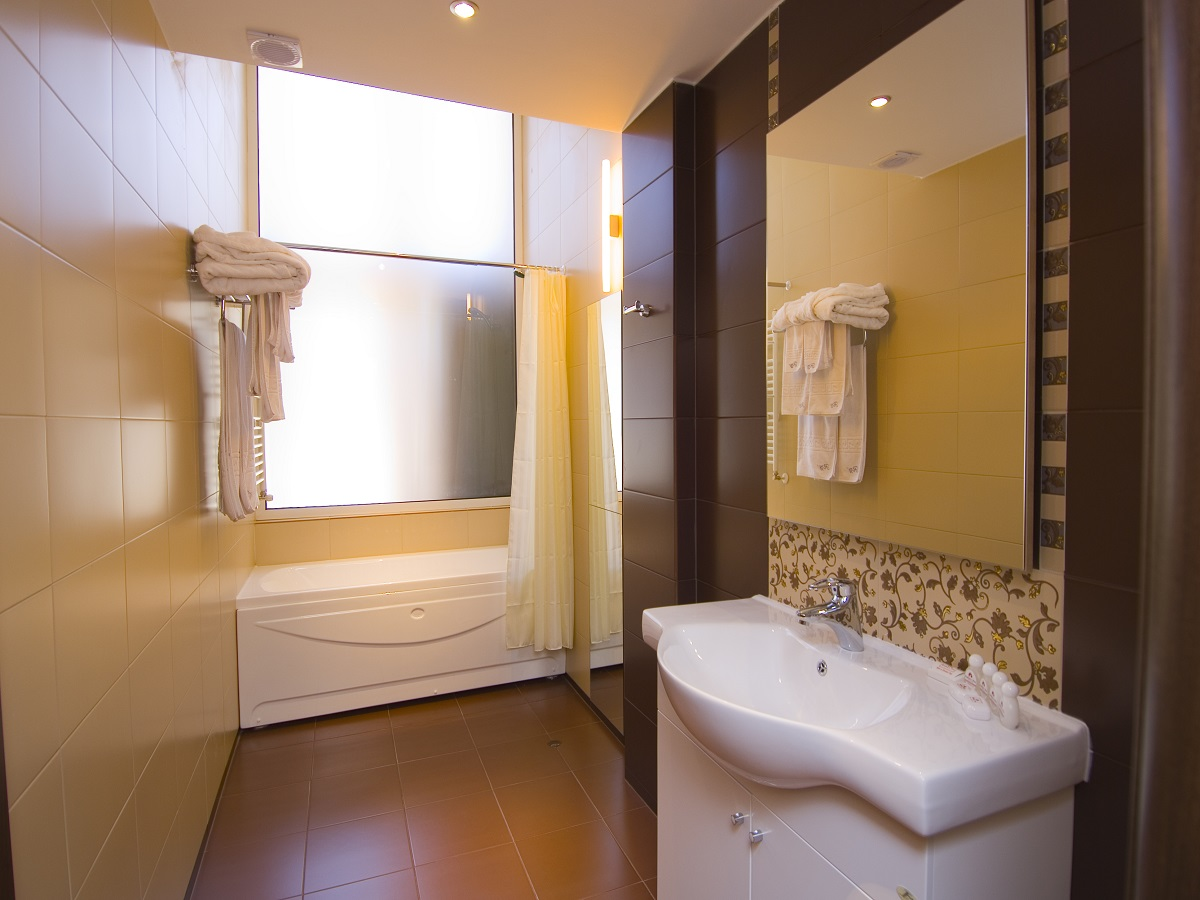 Bathroom in Apartment in Radina`s Way 1