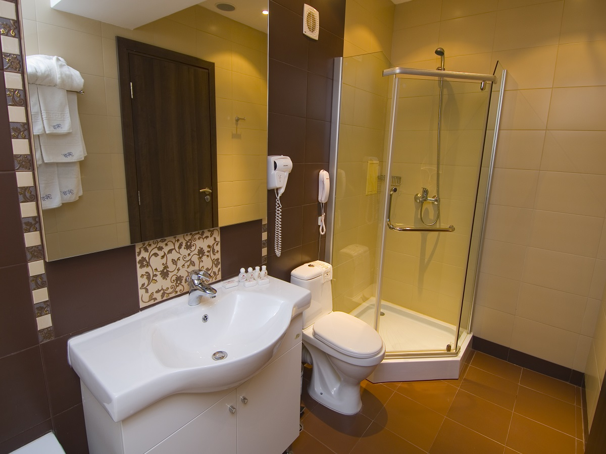 Bathroom in Double room in Radina`s Way