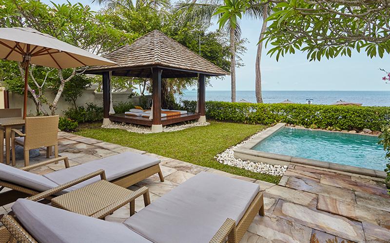 Beach Front Pool Villa4
